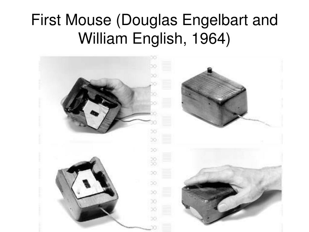 First Mouse (Douglas Engelbart and William English, 1964)