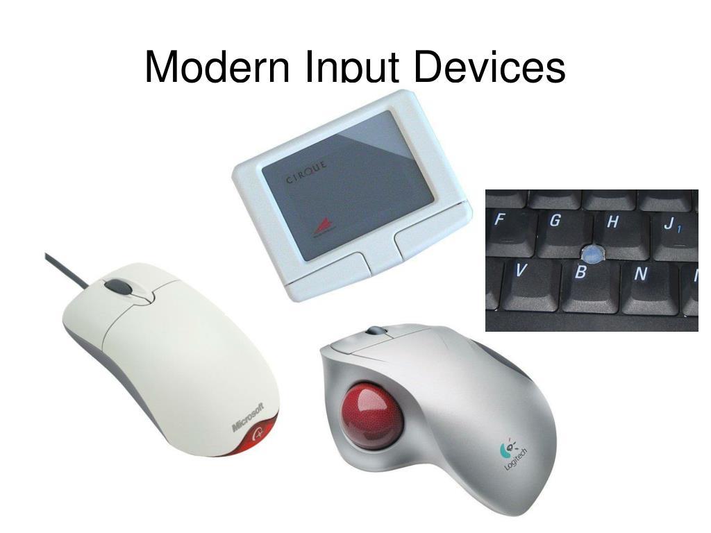 Modern Input Devices