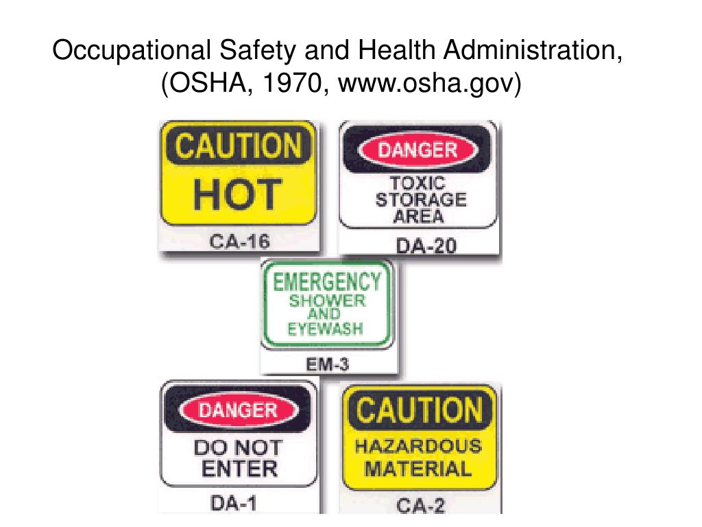 Occupational Safety and Health Administration,