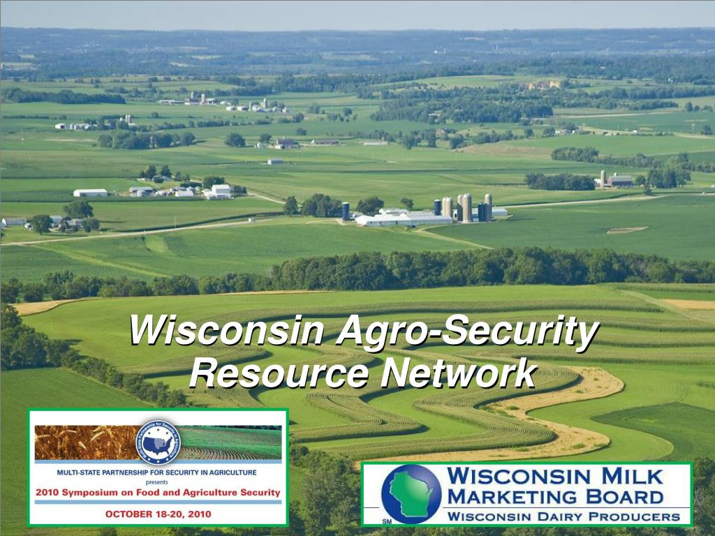 wisconsin agro security resource network l.