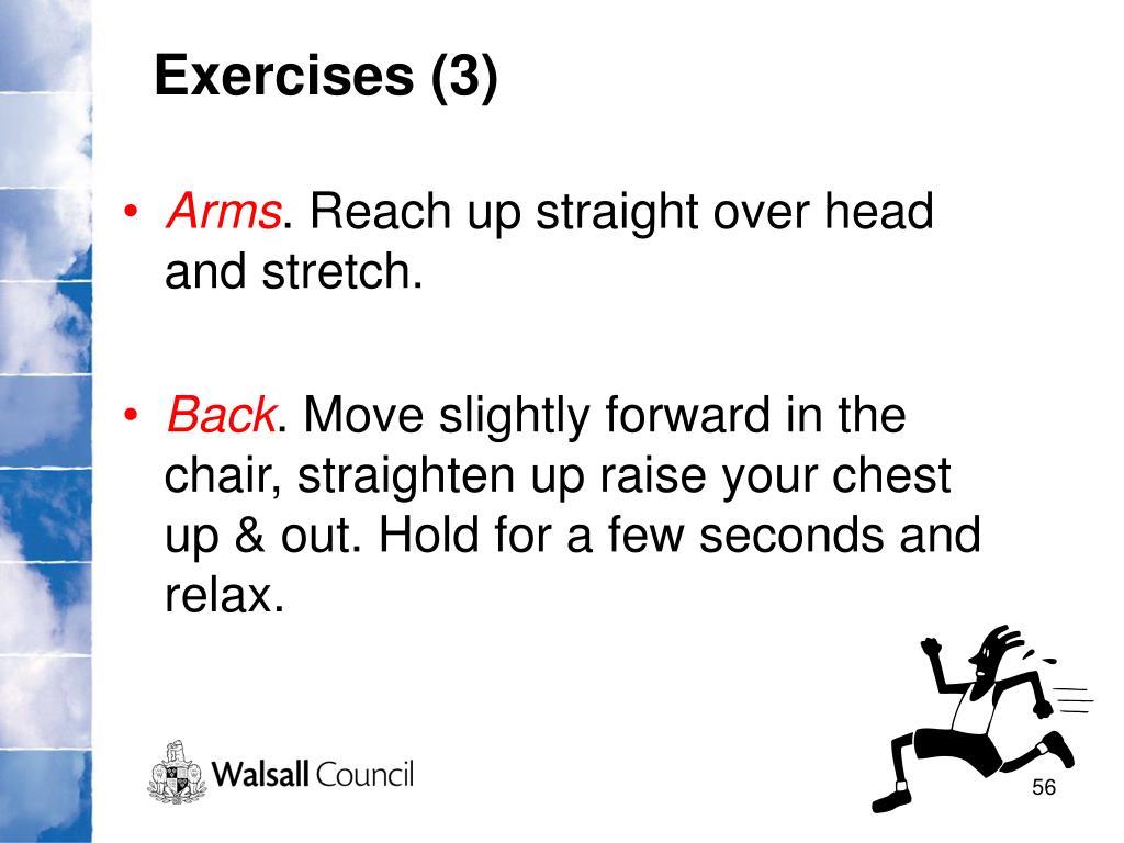 Exercises (3)
