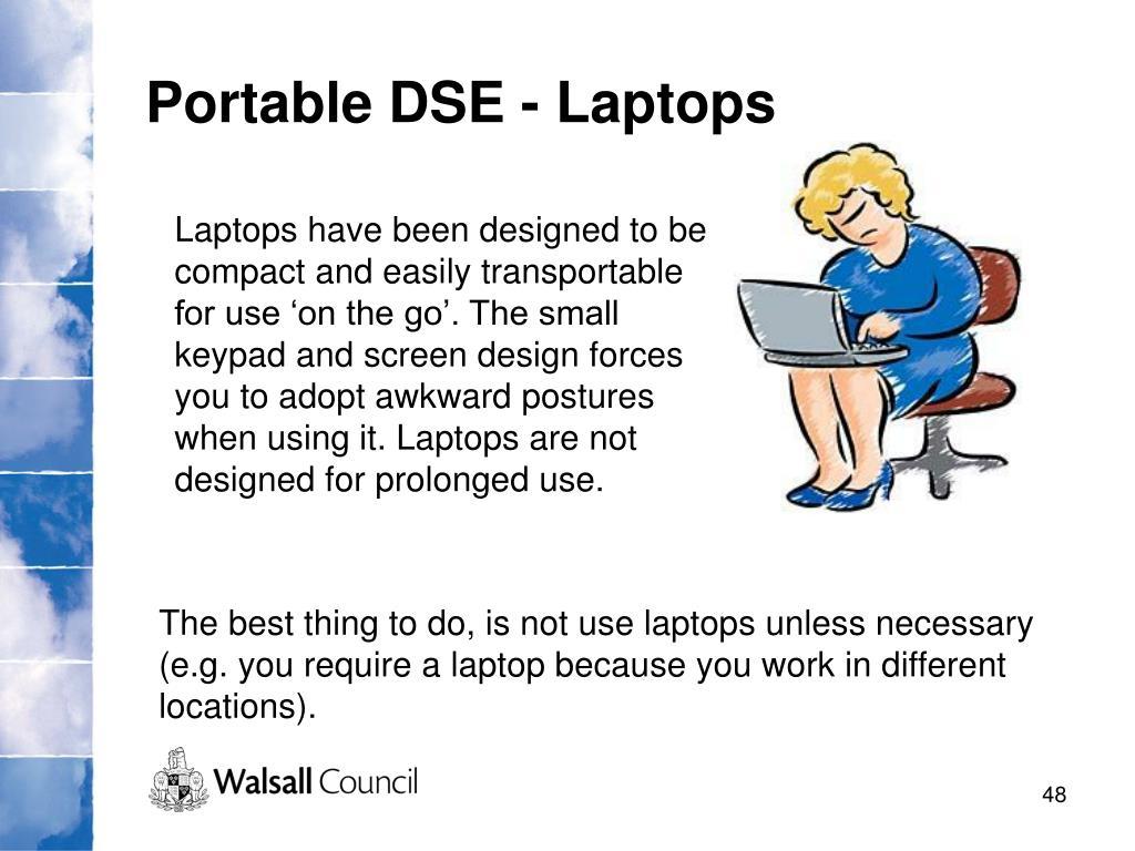 Portable DSE - Laptops