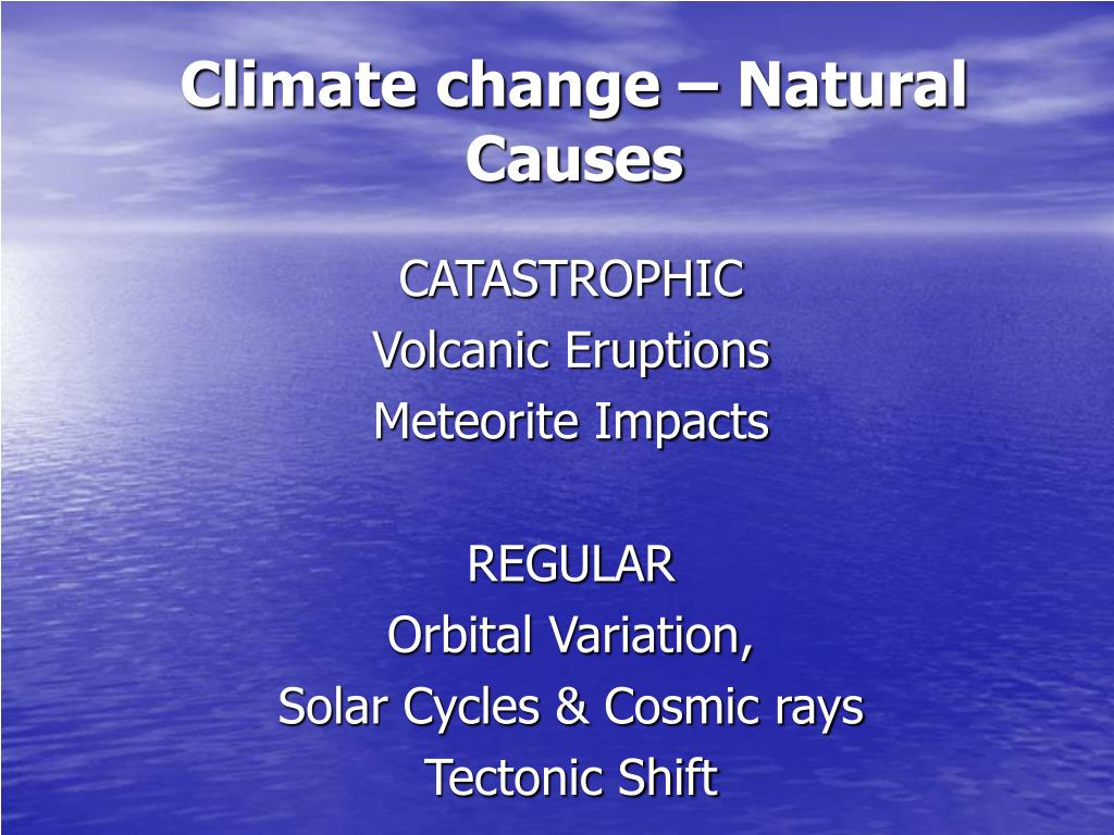 climate change natural causes l.