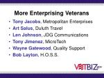 more enterprising veterans