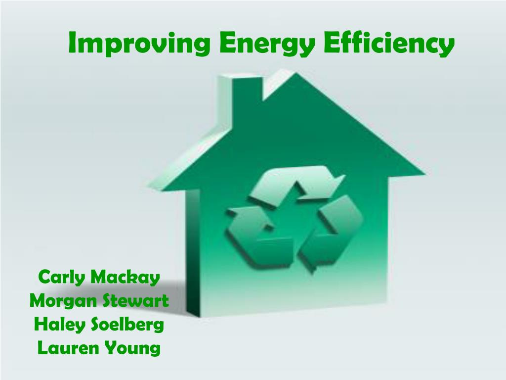 improving energy efficiency l.