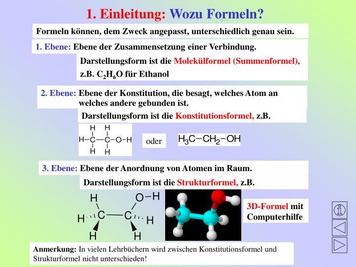 PPT - Isomerie organischer Verbindungen ein interaktives ...