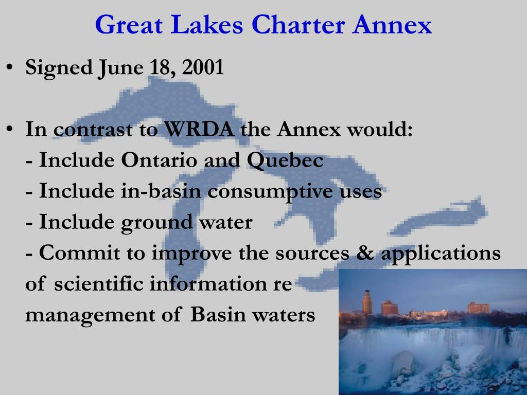 Great Lakes Charter Annex