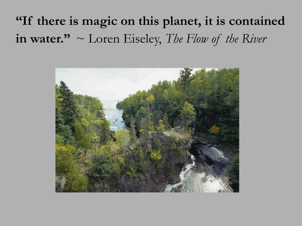 """""""If there is magic on this planet, it is contained"""