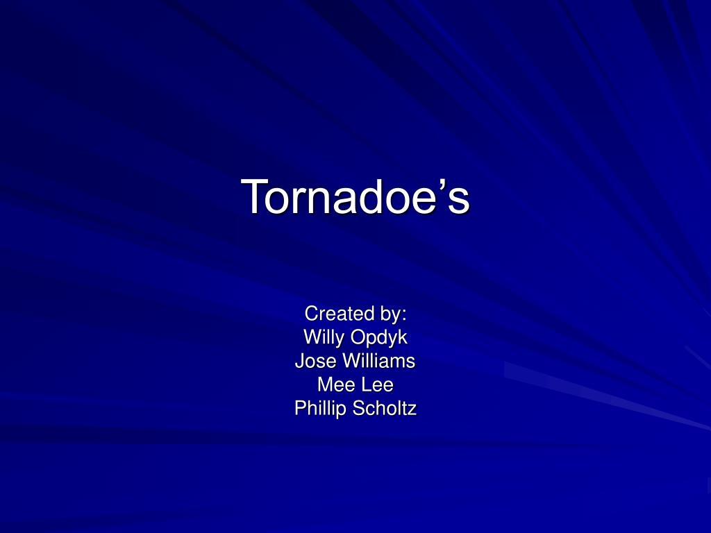 tornadoe s l.