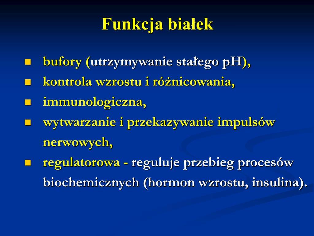 Funkcja białek