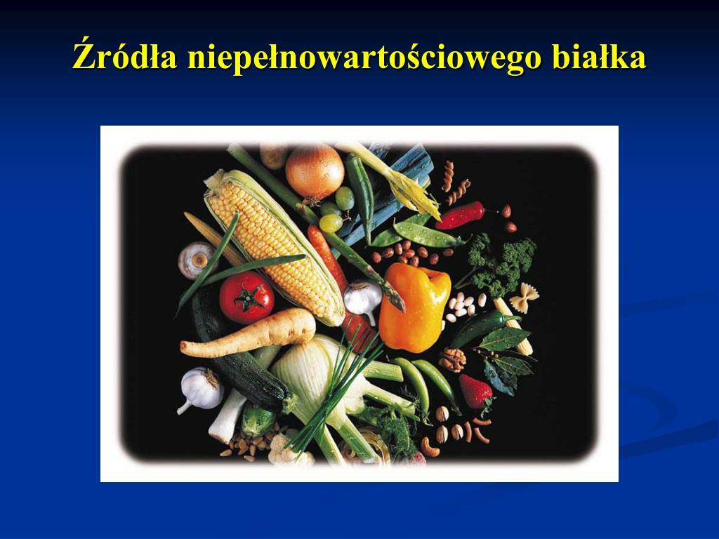 Źródła niepełnowartościowego białka