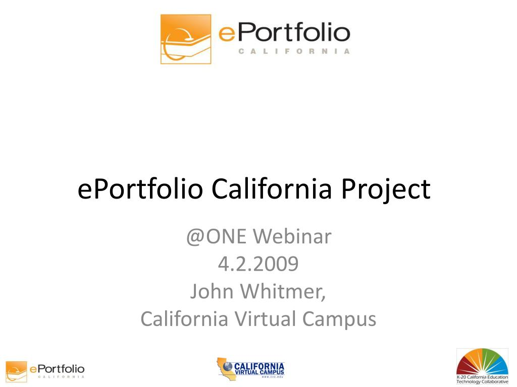 eportfolio california project l.