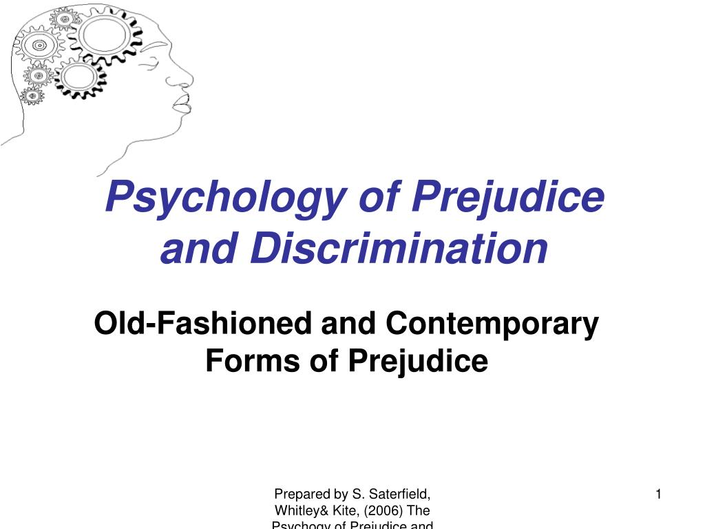 a social psychological approach to reducing prejudice As emphasised earlier, prejudice may be held and acted upon by individuals, however it is a social problem, and as such requires us to consider how social change materialises as an example we might consider how racism (at least in its crude, biological guise) became less socially acceptable in the latter decades of the 20th century.