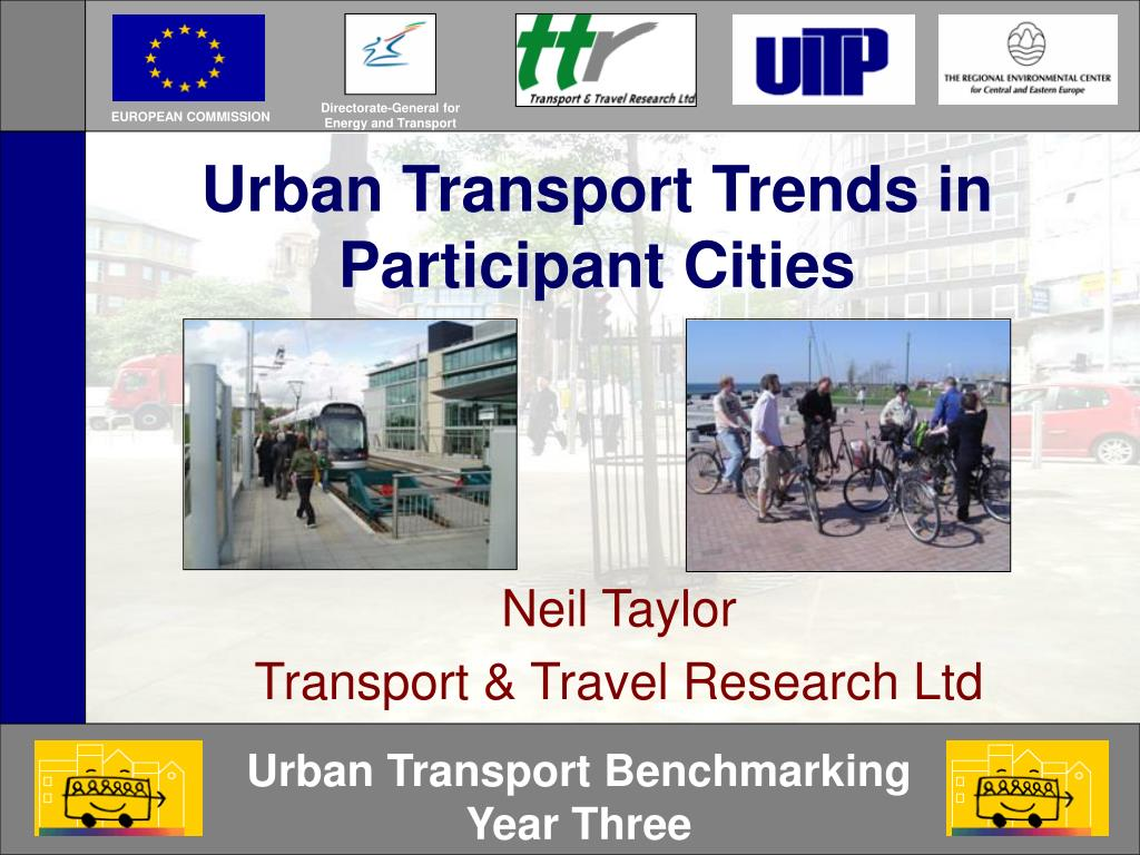 urban transport trends in participant cities l.