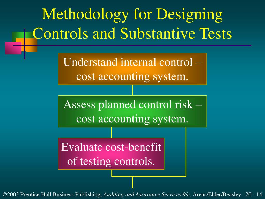 internal controls and risk evaluation