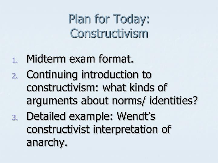 constructivism a matter of interpretation essay An analysis of research on constructivist on constructivist teacher education synthesizes a growing but subject matter which caused students.