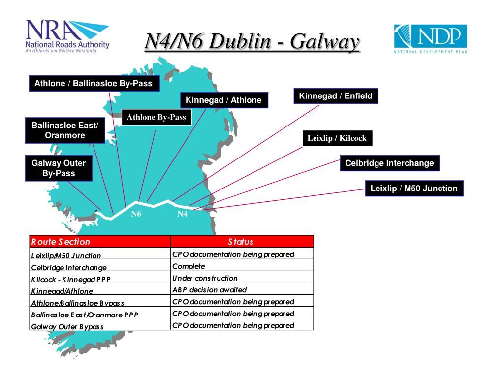 N4/N6 Dublin - Galway