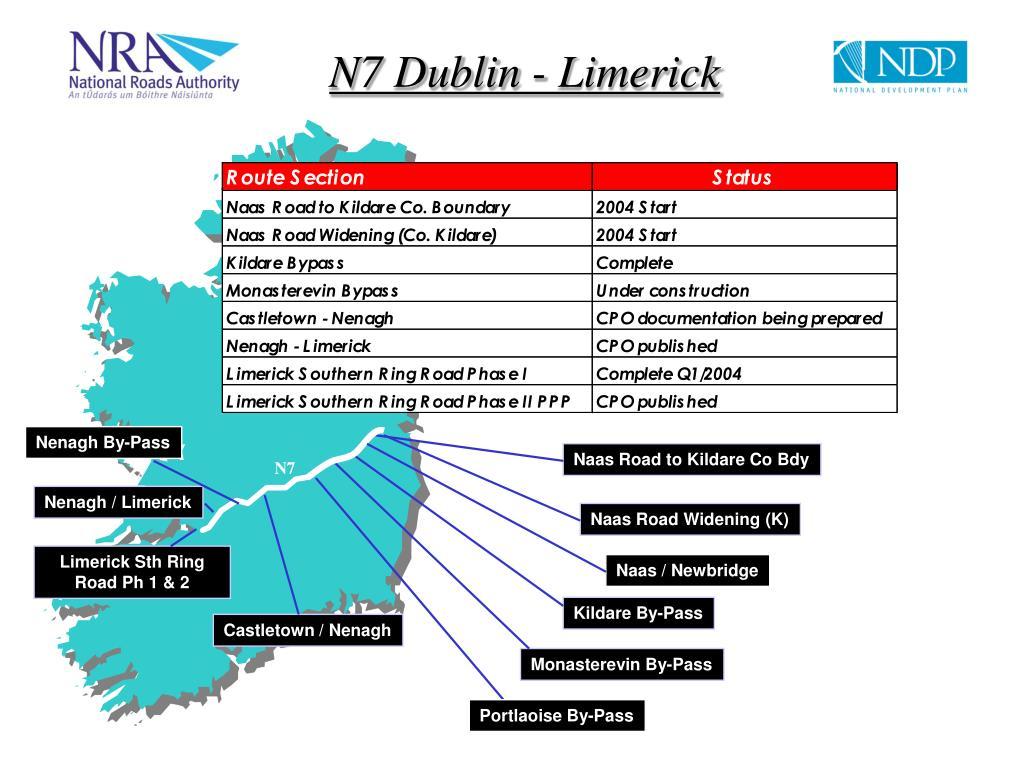 N7 Dublin - Limerick
