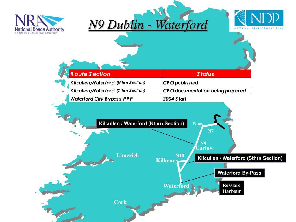 N9 Dublin - Waterford