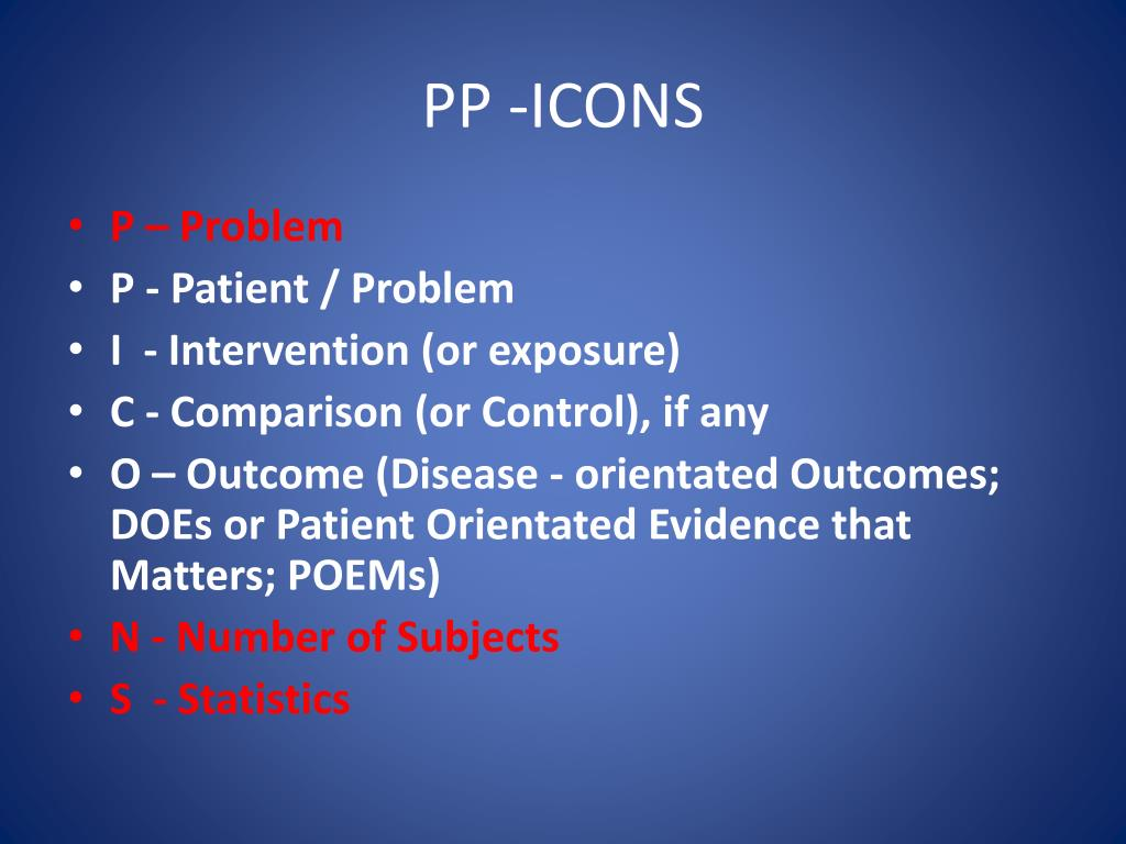 PP -ICONS