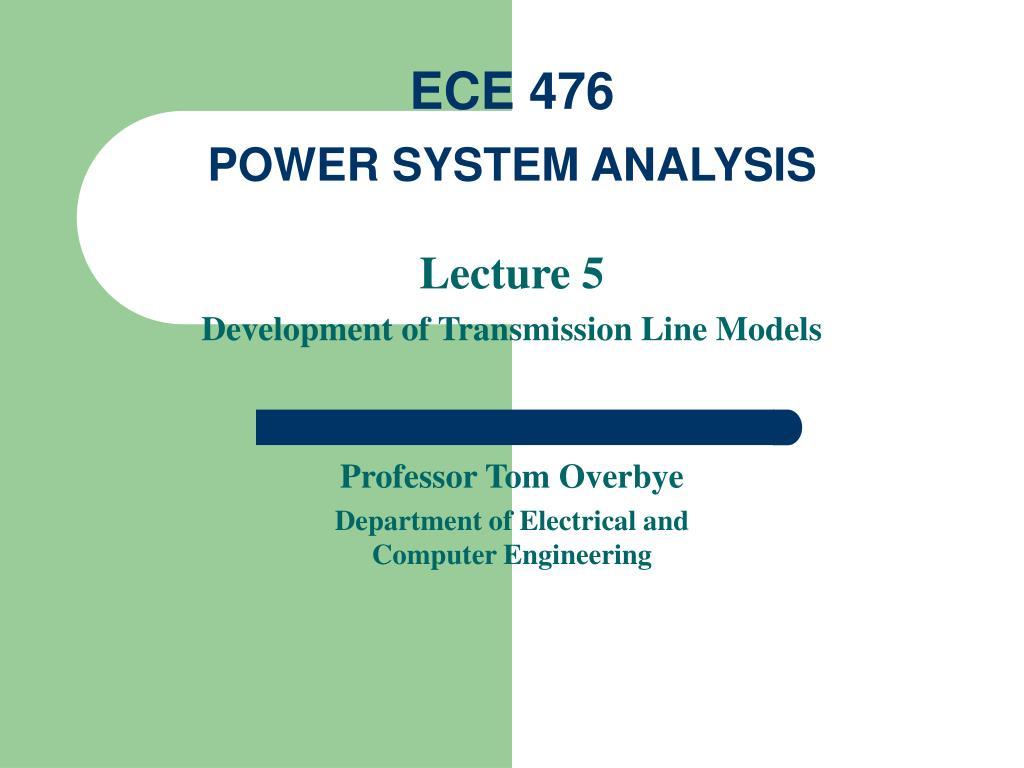 ece 476 power system analysis l.