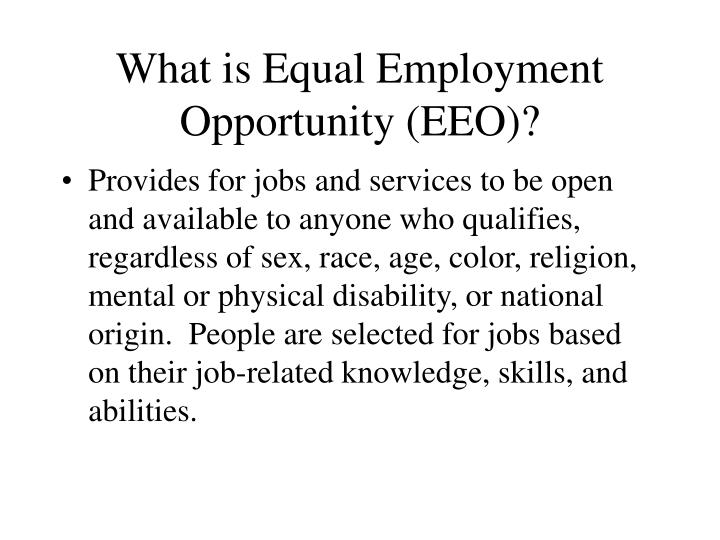 equal employment opportunity eeo Airline failed to act after pilot posted racy photos of united flight attendant, us says  the equal employment opportunity commission has sued the airline, accusing it of discrimination.