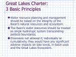 great lakes charter 3 basic principles