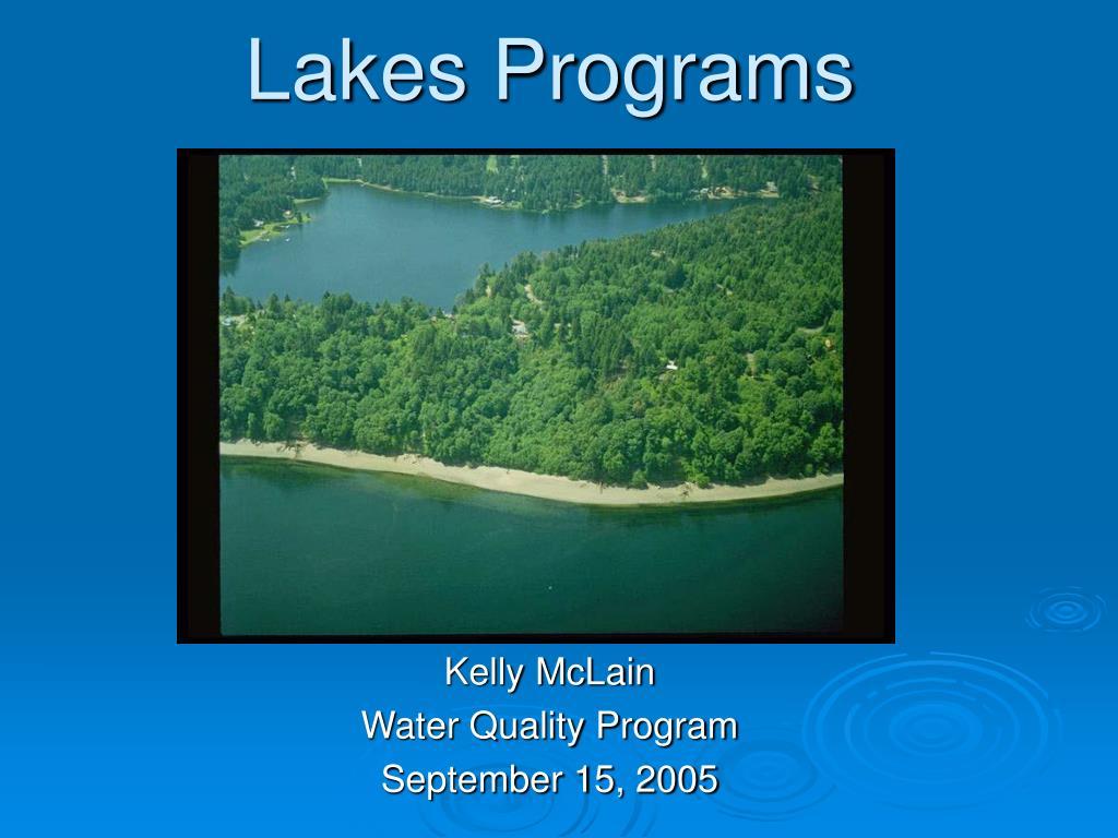 Lakes Programs