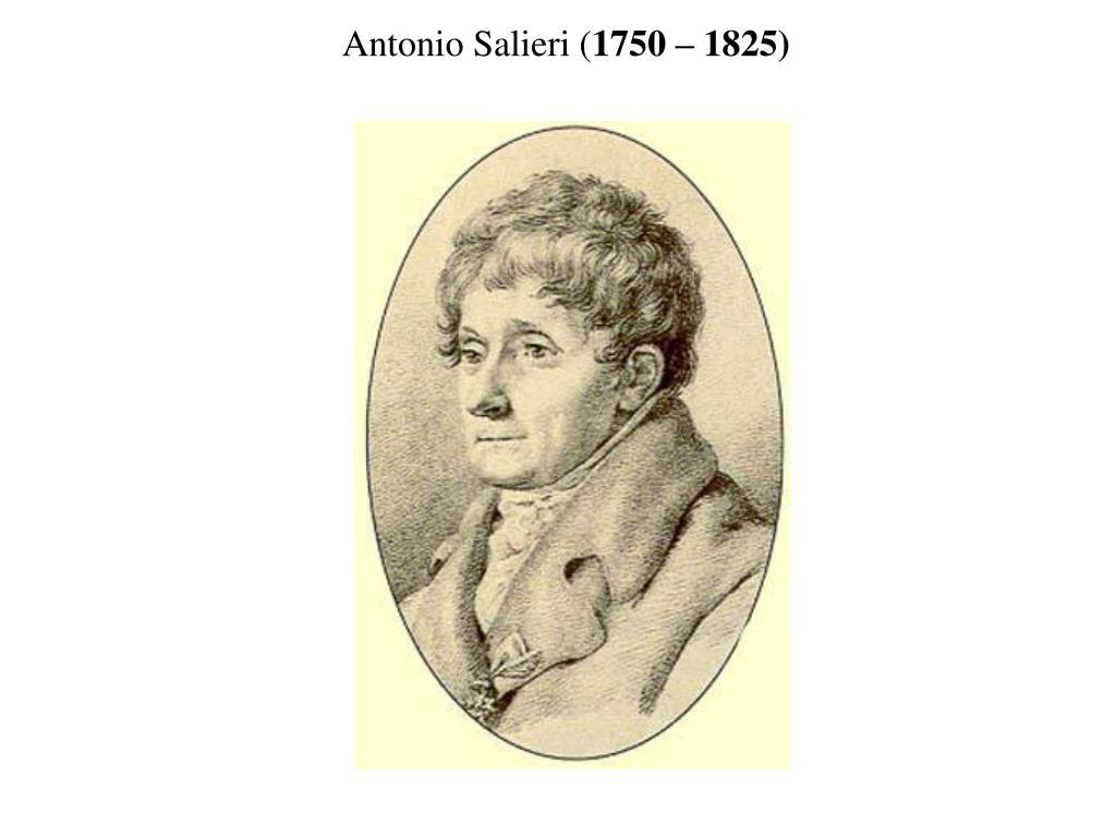 Antonio Salieri (
