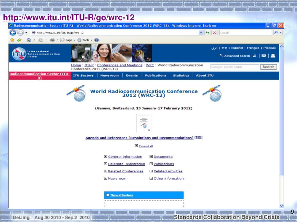 http://www.itu.int/ITU-R/go/wrc-12