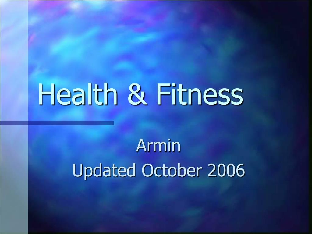 health fitness l.