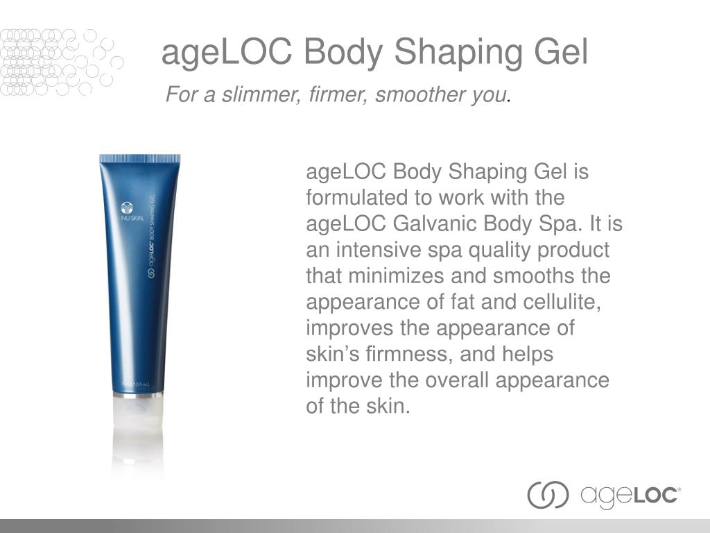 ageLOC Body Shaping Gel
