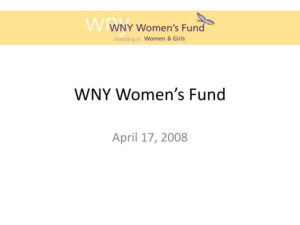 wny women s fund l.