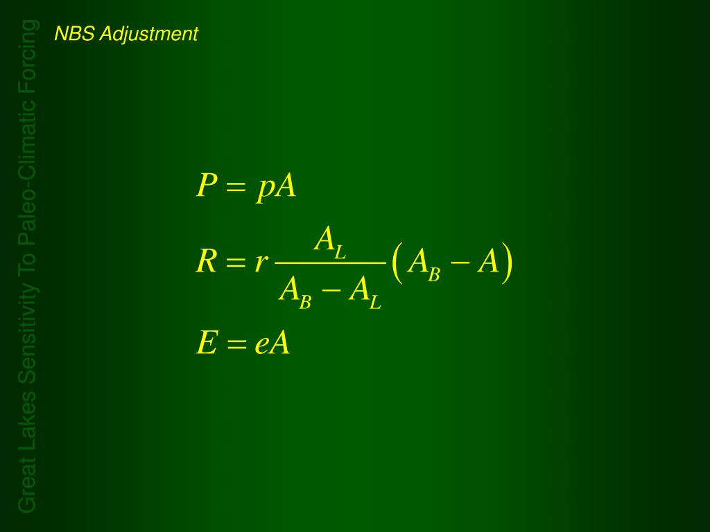 NBS Adjustment