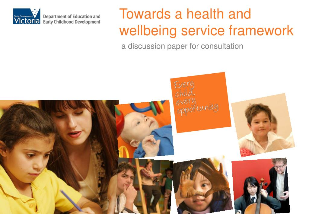 towards a health and wellbeing service framework l.