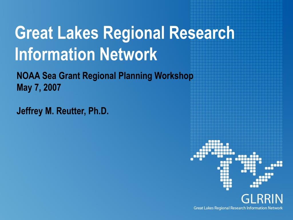 great lakes regional research information network l.