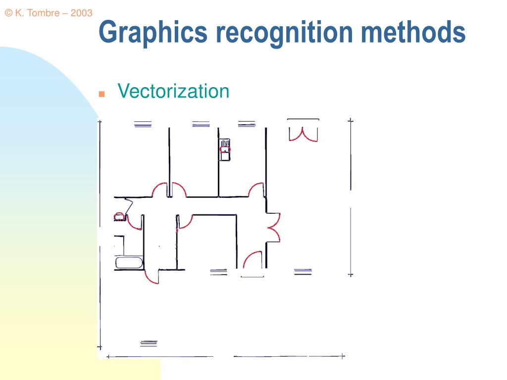 Graphics recognition methods