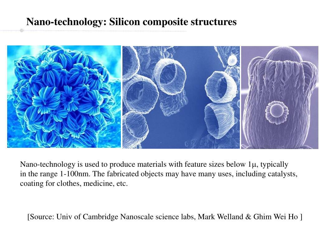 Nano-technology: Silicon composite structures