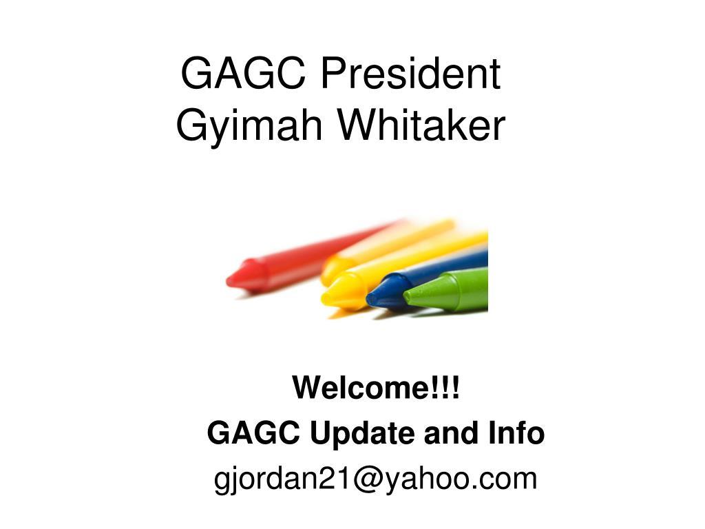 GAGC President