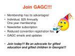 join gagc