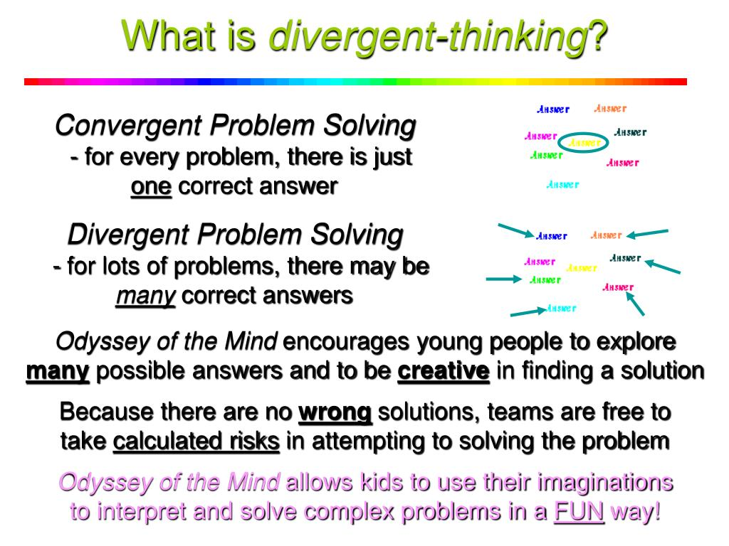 What is Divergent Thinking?
