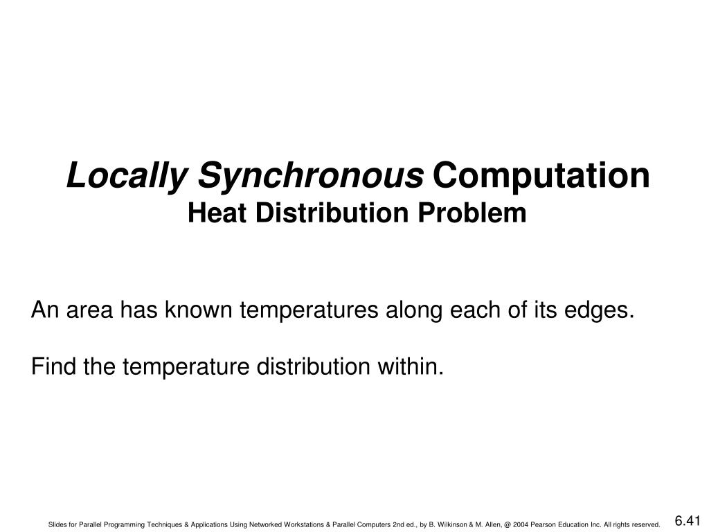 Locally Synchronous