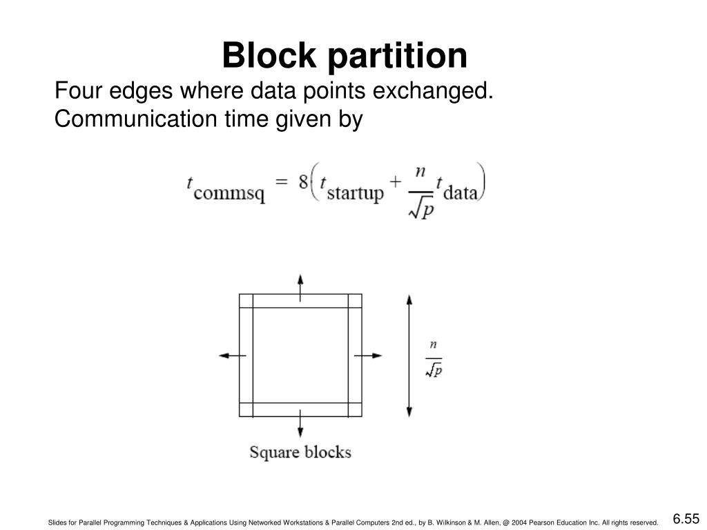 Block partition