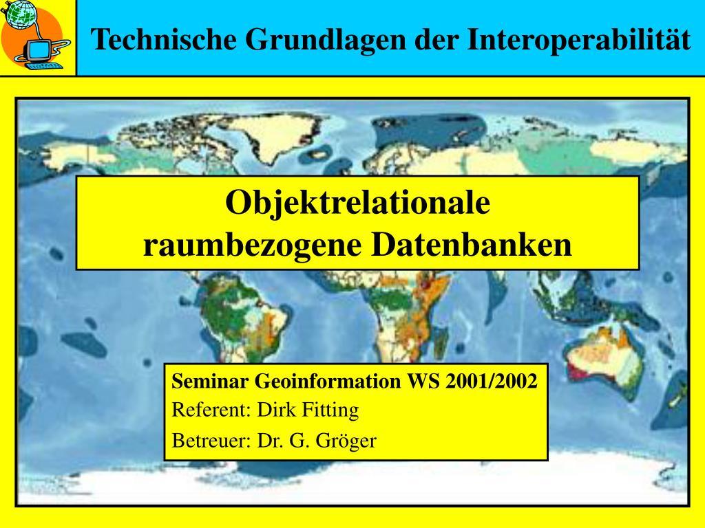 technische grundlagen der interoperabilit t l.