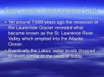 early lakes characteristics cont