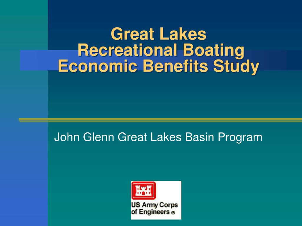great lakes recreational boating economic benefits study l.