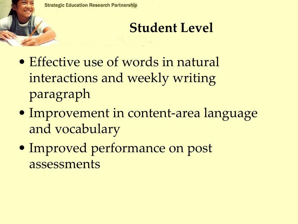 Student Level