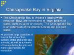 chesapeake bay in virginia