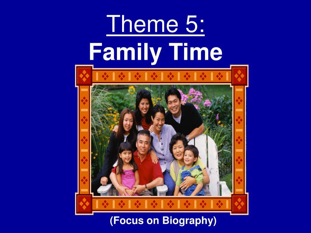 Theme 5: