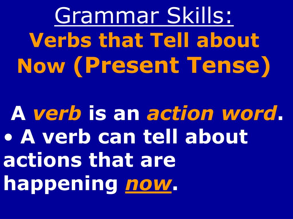 Grammar Skills:
